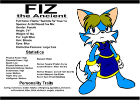Character Profile - Fiz by FizTheAncient