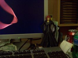 Axel Guardian of my Computer by Zheyxeus