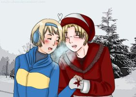 APH: It is cold by Anila-chan