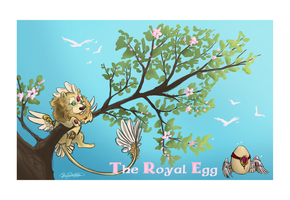 The Royal Egg by ElysianImagery