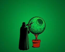 darth shrubbery by Thebigcheese666