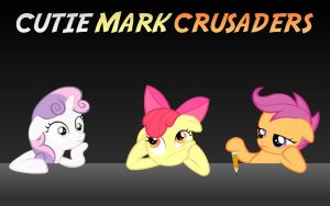 Cutie Mark Crusaders Journalists by Doctor-G