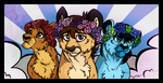 Flower Crowns by Megamixter