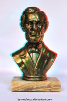 Anaglyph bust by MTolotos