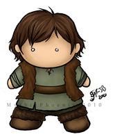 Chibi Hiccup Comm by MythicPhoenix