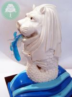 Merlion (Cake) by Sliceofcake