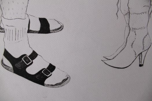 All about stereotypical polish footwear by juliendubois