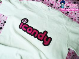 .+ icandy T-shirt $20 +. by tobi2moodring