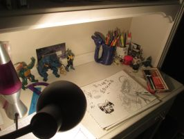 Where the magic happens. by fisheypixels
