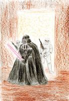Darth Vader and Stormtroopers by Daniela-Chris