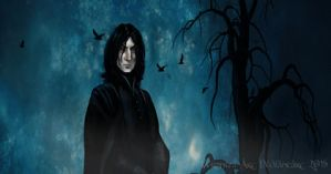 Snape -gif by Veronika-Art