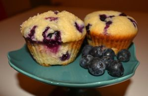 Old School Blueberry Muffins by Lily-Gangsta