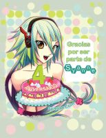 4to Aniversario Syanne by larenn