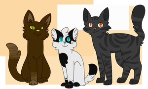 Thunderclan's Visitors by maracat0901