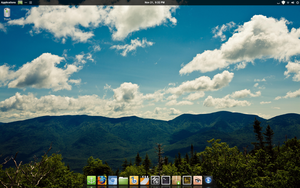 Linux Mint 14 Cinnamon Desktop by ak0602