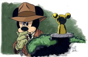 Indy Mickey by Hodges-Art
