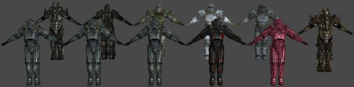 'Fallout 3' Power Armor Pack XPS ONLY!!! by lezisell