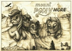 Post-card form Mount Ponymore. by DanGref