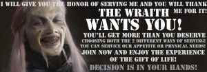 The Wraith wants you! by GvonR