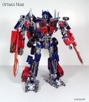 Optimus Prime by Unicron9