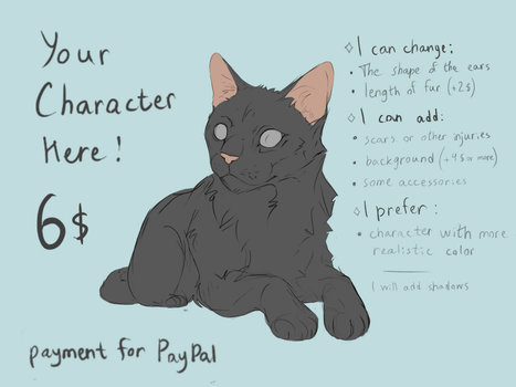 YCH! All the information on the picture! by DarianYunidi