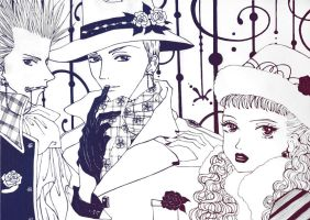 paradise kiss charm by onelillwitch