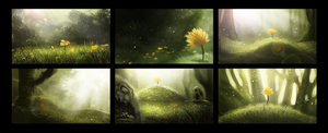 DAY 325. Sidhe - Thumbnails 1 by Cryptid-Creations