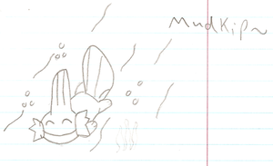 Swimming Mudkip Sketch by Utack101