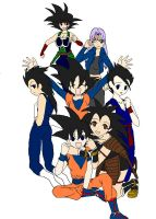 Dragon Ball Z Gender Bender by Kami-Jazzu