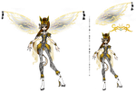 Eon : Jolteon Bloomix by Inspi-Designs