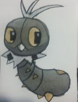 Pokemon X and Y: Scatterbug by Brawl483