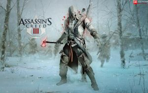 Assassins Creed III Wallpaper feat. Connor by briorey