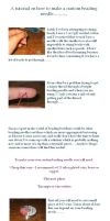 Make a custom beading needle.. by silver-zaira