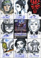 Star Wars G6 Sketchagraphs by grantgoboom