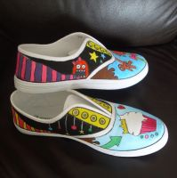 My sweet tooth shoes, side... by PORGEcreations