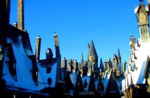 Welcome to Hogsmeade! by MaginaRevolution