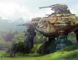 Living Fortress by BolDuck
