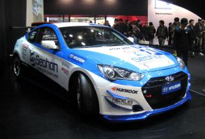 Every Man's Love, 600 bhp Genesis Drift Machine by toyonda
