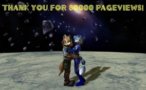 80000 Pageviews by HectorNY