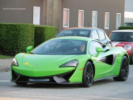 Green 570S by SeanTheCarSpotter