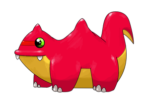 belching Fakemon by Smiley-Fakemon