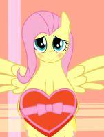 Hearts and Hooves day with Fluttershy by Flint2m90