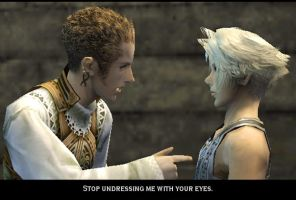Balthier-Vaan funnies by GalbanKnight