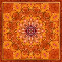 Love - Mandala by Lilyas
