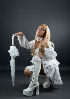 Tanit-Isis White Lolita III by tanit-isis-stock