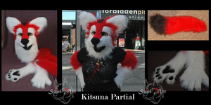 Kitsuna Fursuit~ by Saixpuppy222