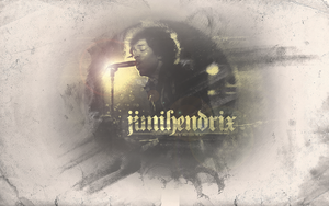 Jimi Hendrix by Hurricane-Season