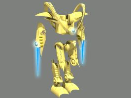 Protoss Zealot Armor 3D Model by maidenjeanne