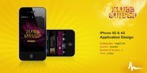 iPhone Application Design by Areeb89