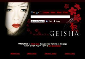 Memoirs of a Geisha by AwesomeStart